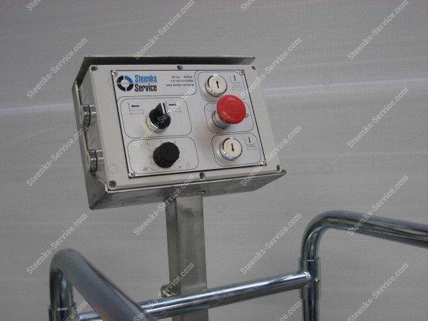 Buisrailwagen Short Lift 400 Steenks   Afbeelding 3