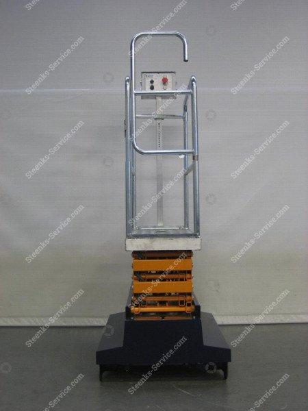 Buisrailwagen Short Lift 400 Steenks   Afbeelding 4
