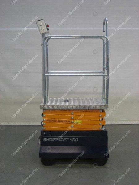 Buisrailwagen Short Lift 400 Steenks   Afbeelding 5