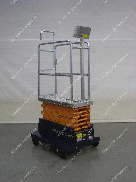 Buisrailwagen Short Lift 400 Steenks   Afbeelding 6