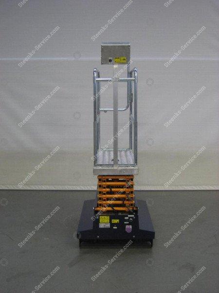 Buisrailwagen Short Lift 400 Steenks   Afbeelding 7