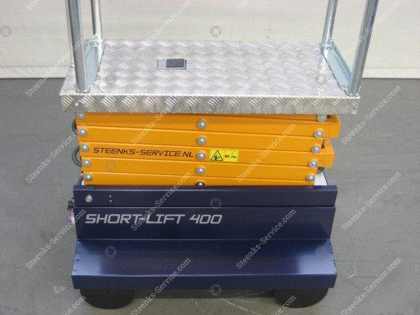 Buisrailwagen Short Lift 400 Steenks   Afbeelding 9