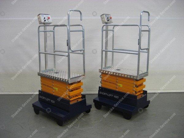 Buisrailwagen Short Lift 400 Steenks   Afbeelding 11