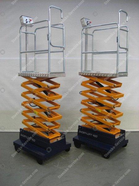 Buisrailwagen Short Lift 400 Steenks   Afbeelding 12