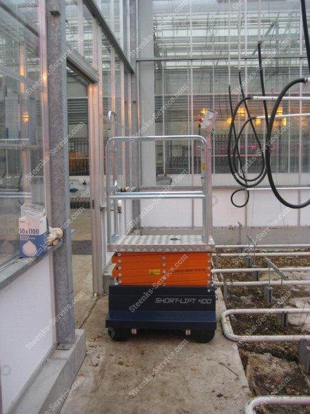 Buisrailwagen Short Lift 400 Steenks   Afbeelding 13