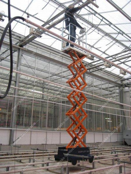 Buisrailwagen Short Lift 400 Steenks   Afbeelding 14