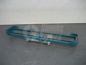 Paprika container schuifrek 170 cm.