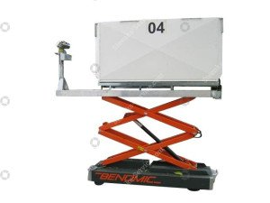 Pepper pipe rail trolley Benomic
