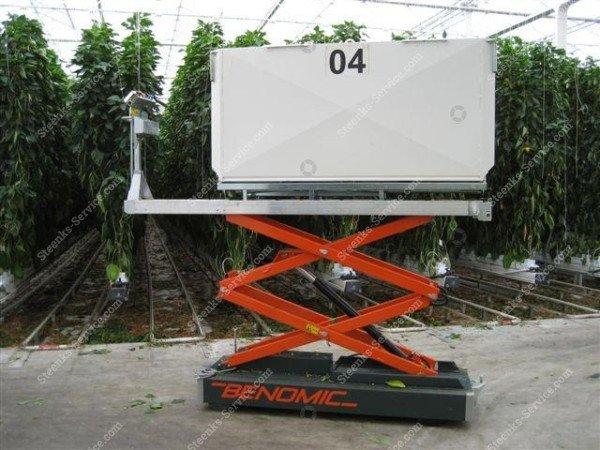 Paprika Rohrschienenwagen Benomic | Bild 4