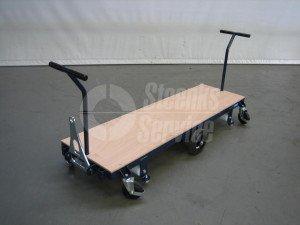 Transportwagen staal 168 cm.