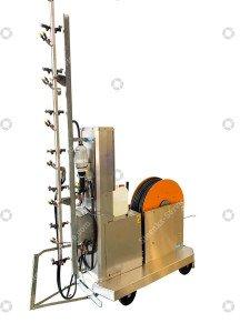 Spray robot Meto + chlorine dosatron