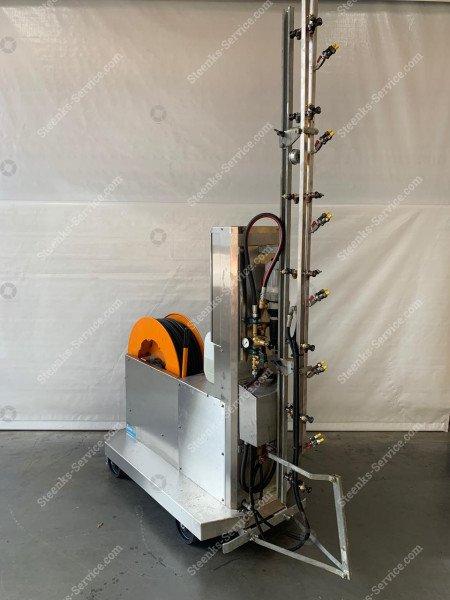 Spuitrobot Meto + chloor dosatron | Afbeelding 2