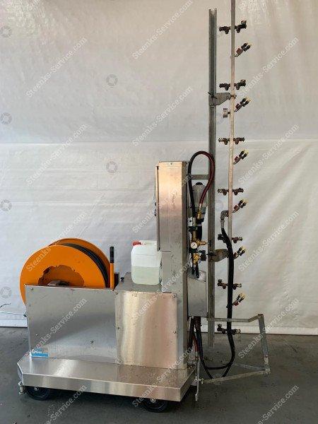 Spuitrobot Meto + chloor dosatron | Afbeelding 3