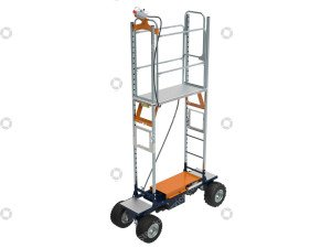 Air wheel trolley Benomic EasyTrack
