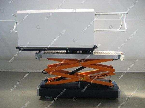 Buisrailwagen Benomic 2-Schaar 450 kg. | Afbeelding 9