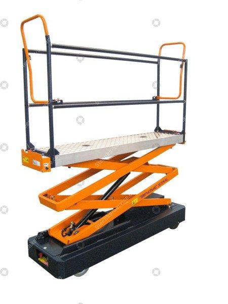 Pipe rail trolley Benomic 2-scissor