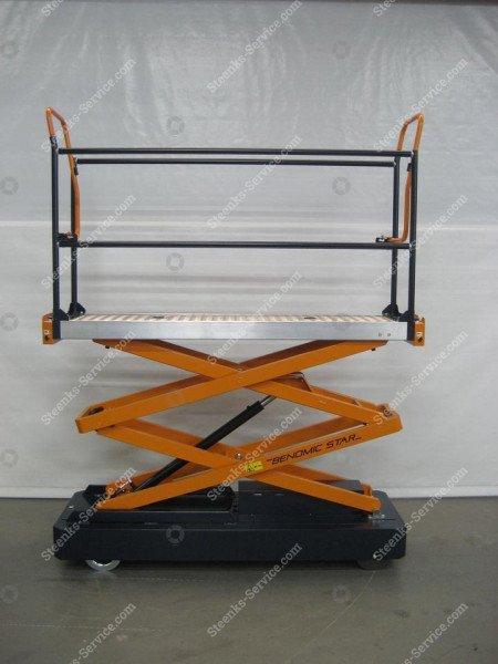 Pipe rail trolley Benomic 2-scissor   Image 3