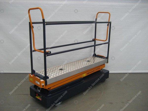 Rohrschienenwagen Benomic 2-Schere   Bild 2