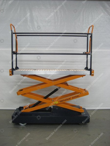 Rohrschienenwagen Benomic 2-Schere   Bild 3