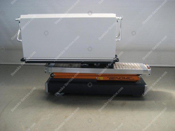 Rohrschienenwagen Benomic 2-Schere   Bild 10