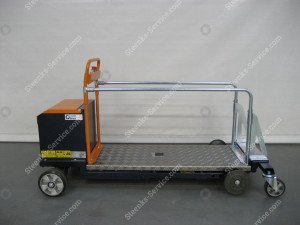 Leaf-picking trolley Berg Hortimotive