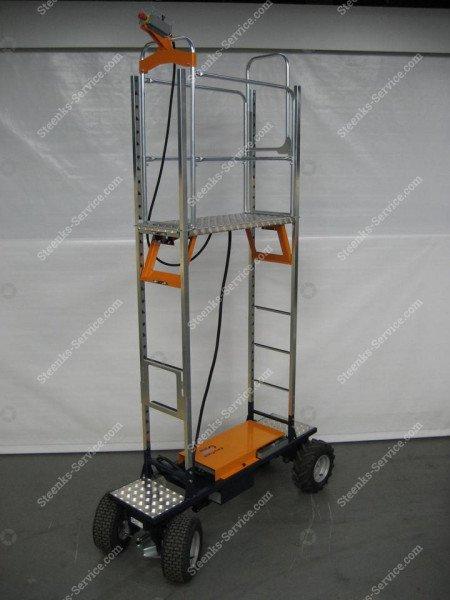 Luchtbandenwagen Benomic EasyTrack 230cm | Afbeelding 2
