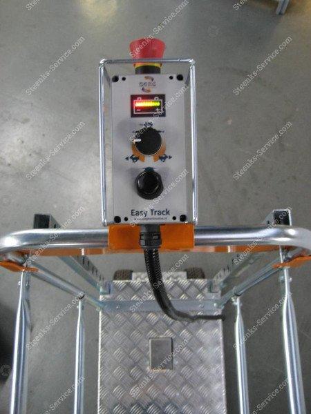 Luchtbandenwagen Benomic EasyTrack 230cm | Afbeelding 6