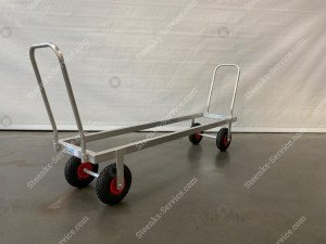 Transport trolley aluminium air tires