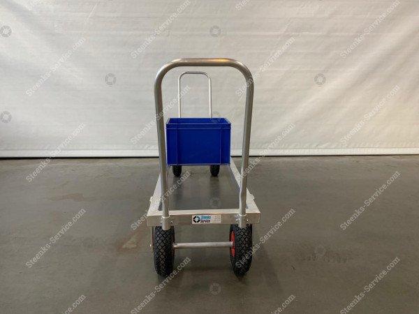 Transportwagen Aluminium op luchtbanden   Afbeelding 4