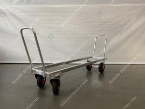 Aluminium transport trolley air tires