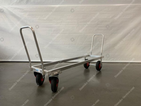 Aluminium transport trolley air tires