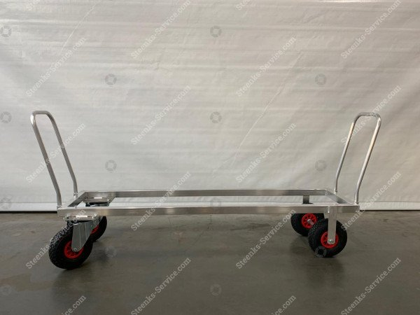 Aluminium transport trolley air tires | Image 2