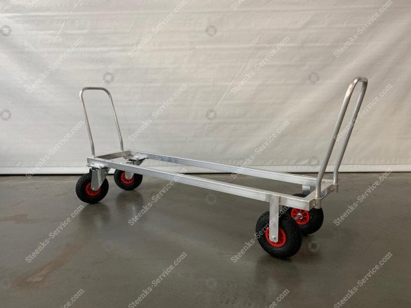 Aluminium transport trolley air tires | Image 3