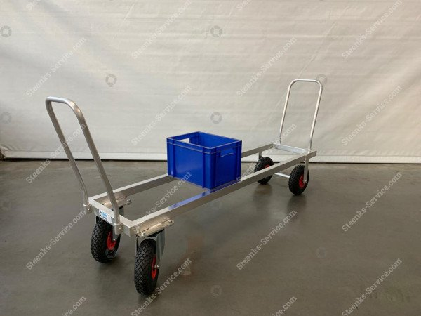Aluminium transport trolley air tires | Image 5