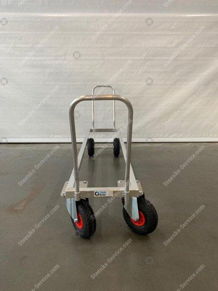 Transportwagen Aluminium op luchtbanden | Afbeelding 4