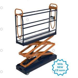 Pipe rail trolley Benomic S350