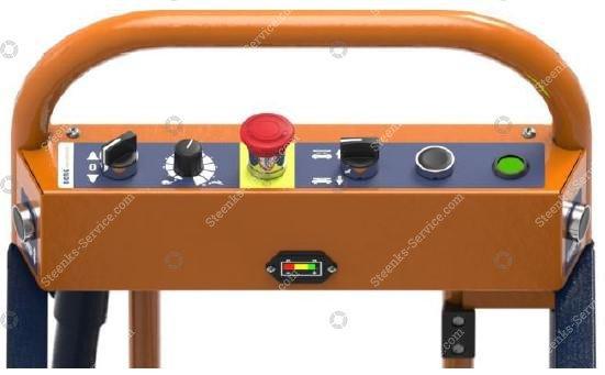 Pipe rail trolley Benomic S350 2 scissor | Image 5
