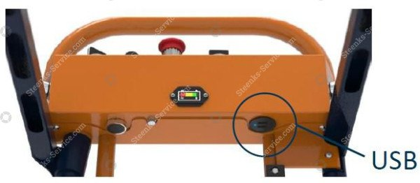 Pipe rail trolley Benomic S350 2 scissor | Image 6