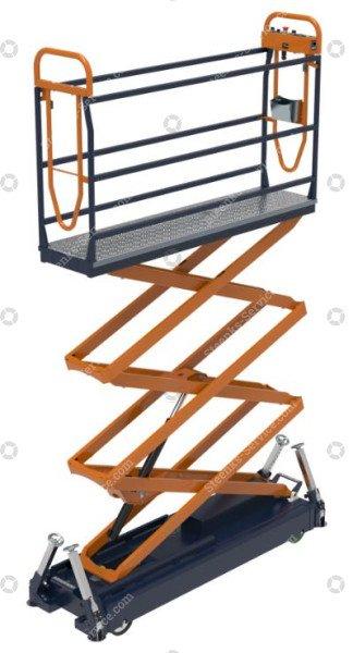 Pipe rail trolley Benomic S500 3 scissor | Image 2