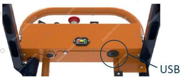 Pipe rail trolley Benomic S500 3 scissor | Image 4