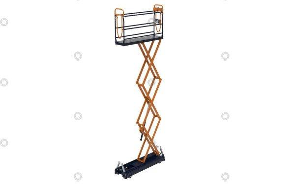 Pipe rail trolley Benomic S500 3 scissor | Image 5