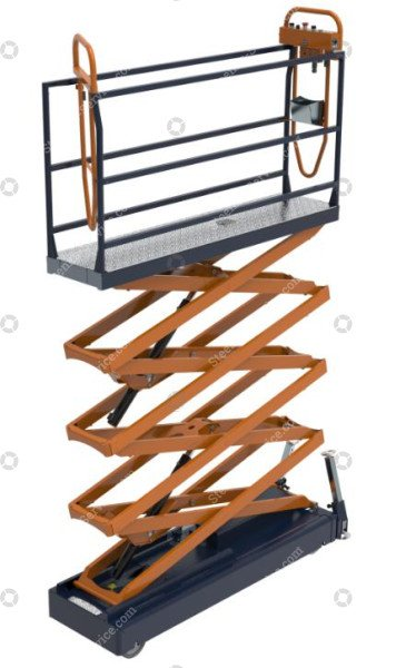 Pipe rail trolley Benomic S660 4 scissor | Image 2