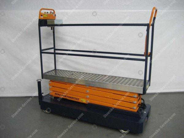 Pipe rail trolley Benomic 4-scissors   Image 2