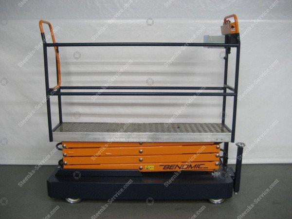 Pipe rail trolley Benomic 4-scissors   Image 4