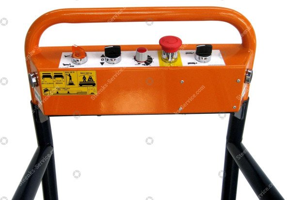 Pipe rail trolley Benomic 4-scissors | Image 7