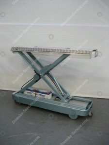 Pipe rail trolley BRW185