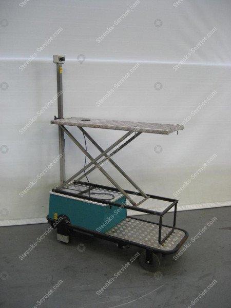 Pipe rail trolley BR04 Berg Hortimotive