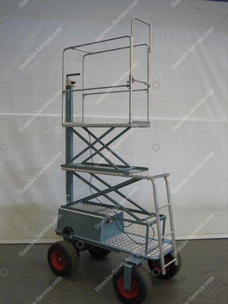 Luchtbandenwagen BR04 Berg Hortimotive | Afbeelding 2