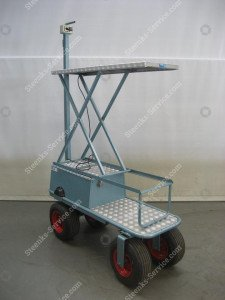 Air Wheel Trolley BR04 Berg Hortimotive