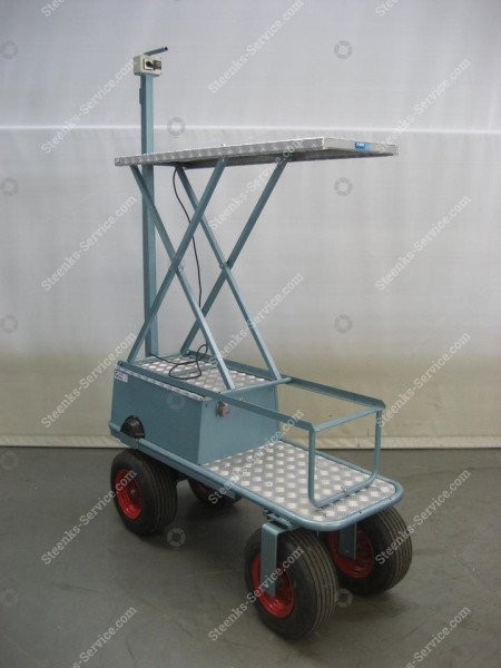 Air Wheel Trolley BR04 Berg Hortimotive